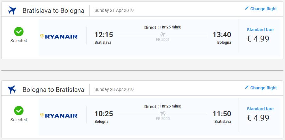 Talianska Bologna z Bratislavy s letenkami od 10 eur