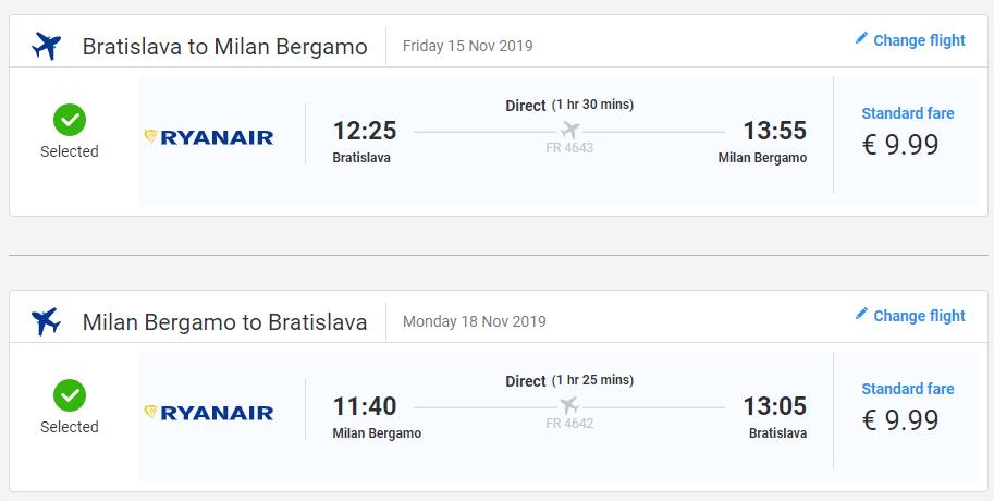 Talianske Bergamo aj na predĺžený víkend s letenkami z Bratislavy od 20 eur