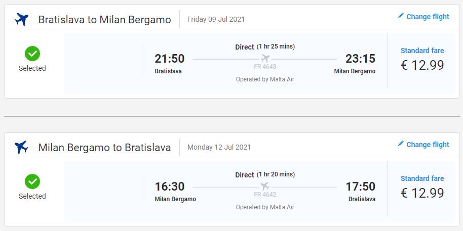 Talianske Bergamo cez letné prázdniny. Letenky z Bratislavy od 26 eur