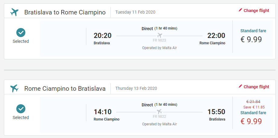 Taliansko - Rím z Bratislavy s letenkami od 20 eur