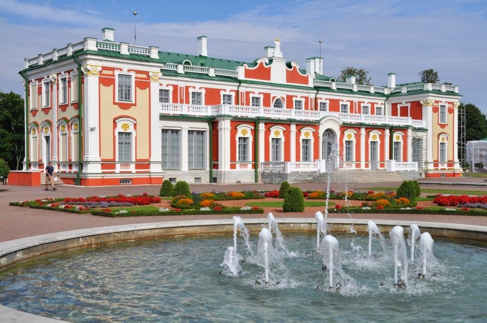 Tallinn - palác Kadriorg