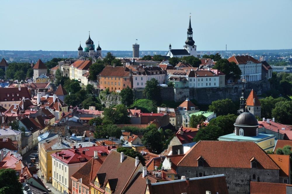 Tallinn - panoráma starého mesta