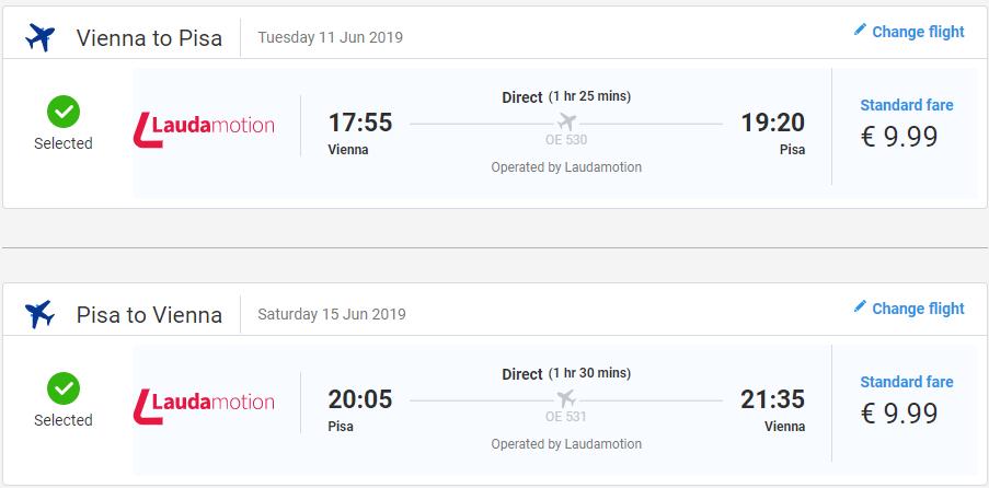Toskánsko v júnových termínoch. Letenky z Viedne do Pise už od 20 eur