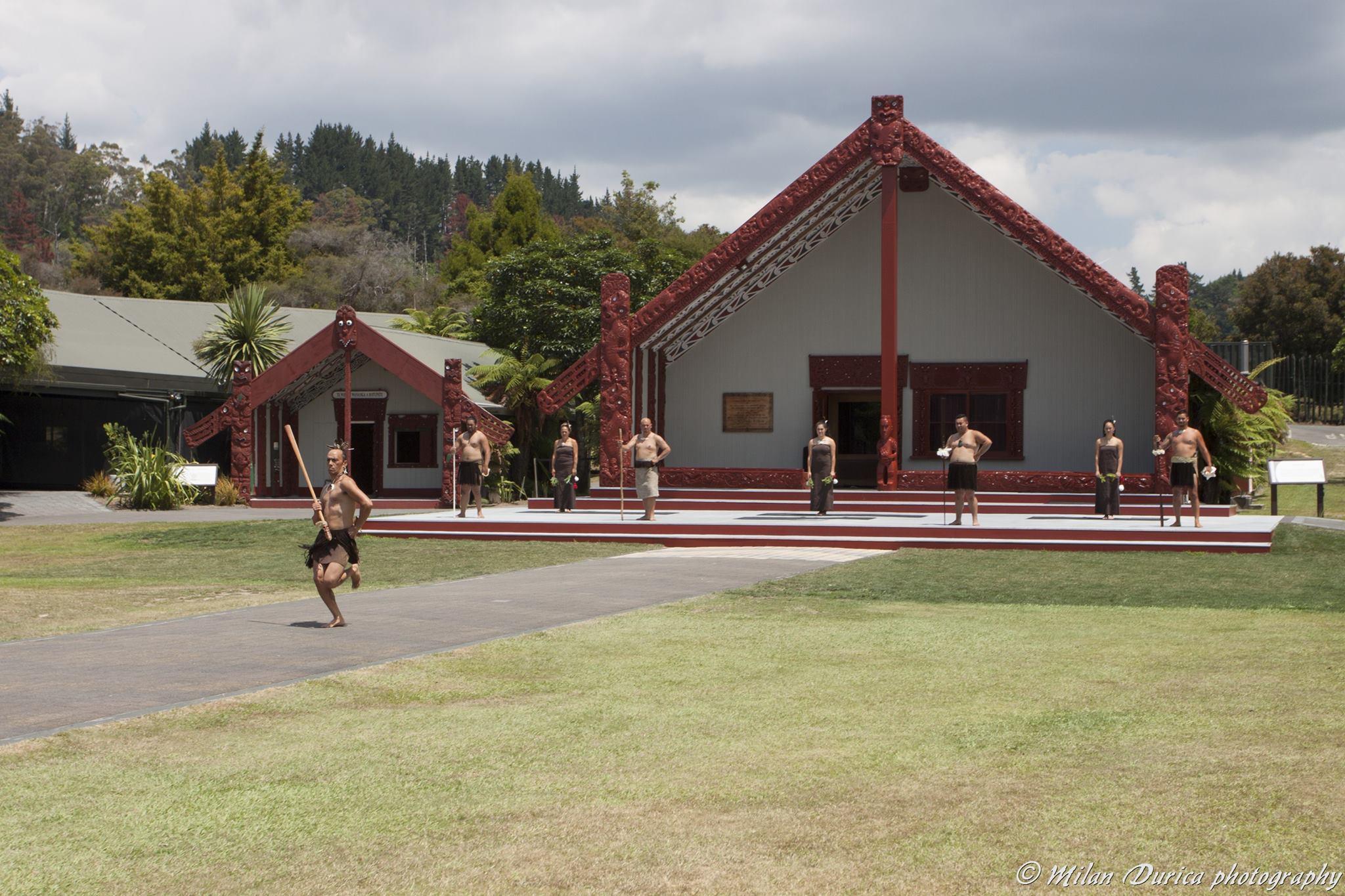 Tradičné predstavenie Maorov