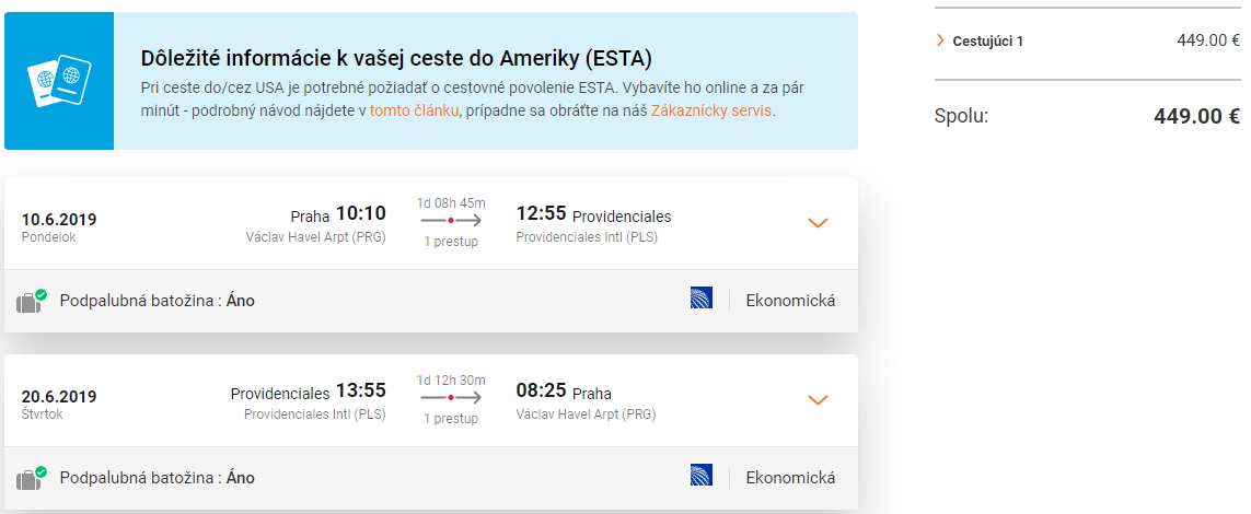 Turks a Caicos z Prahy s letenkami od 449 eur
