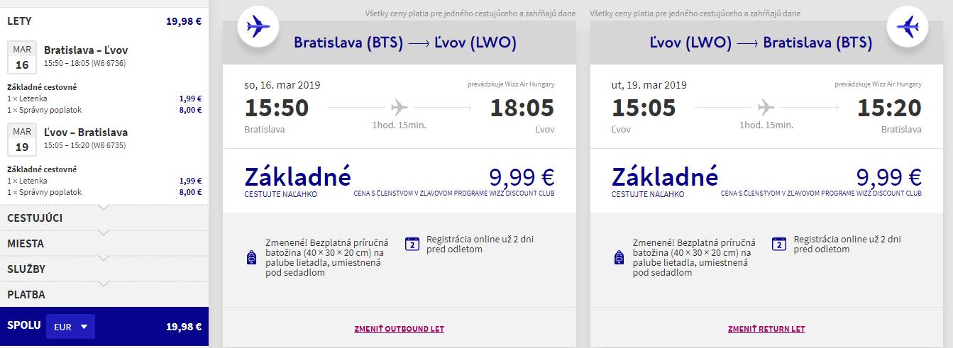 Ukrajinský Ľvov z Bratislavy s letenkami od 20 eur
