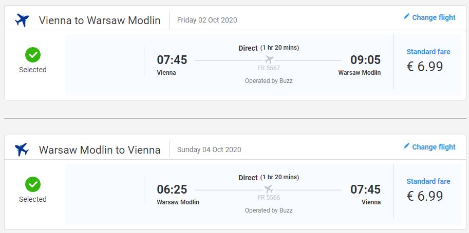 Víkend vo Varšava s letenkami z Viedne už od 14 eur