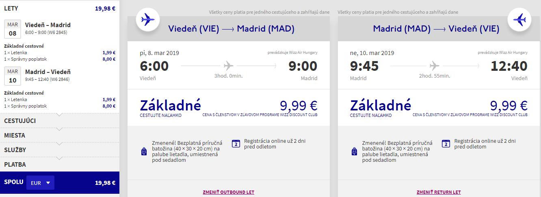 Víkendový Madrid z Viedne s letenkami od 20 eur