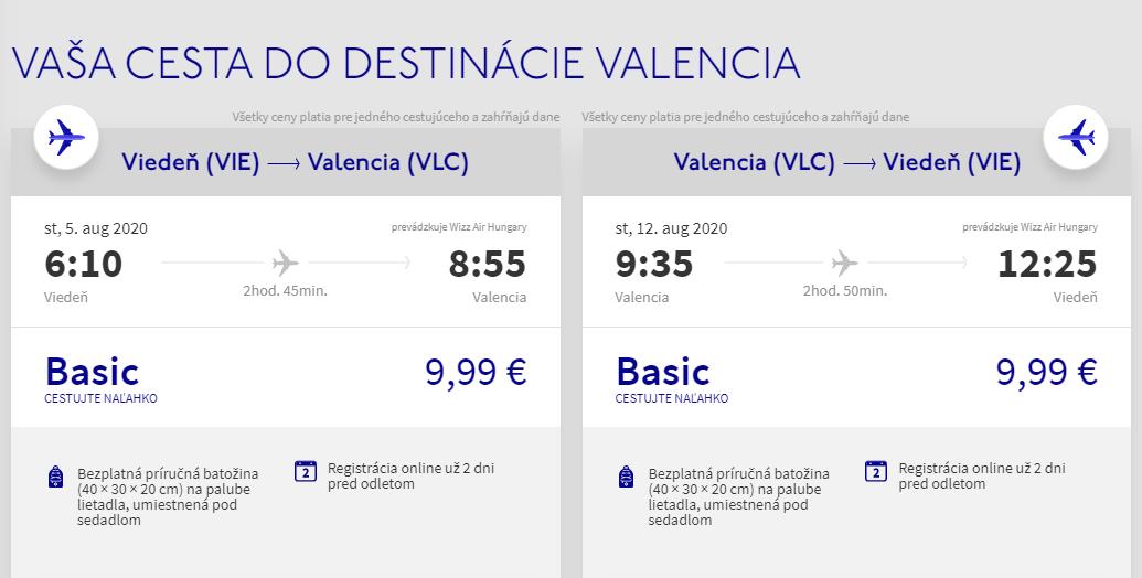Valencia cez letné prázdniny. Letenky z Viedne od 20 eur