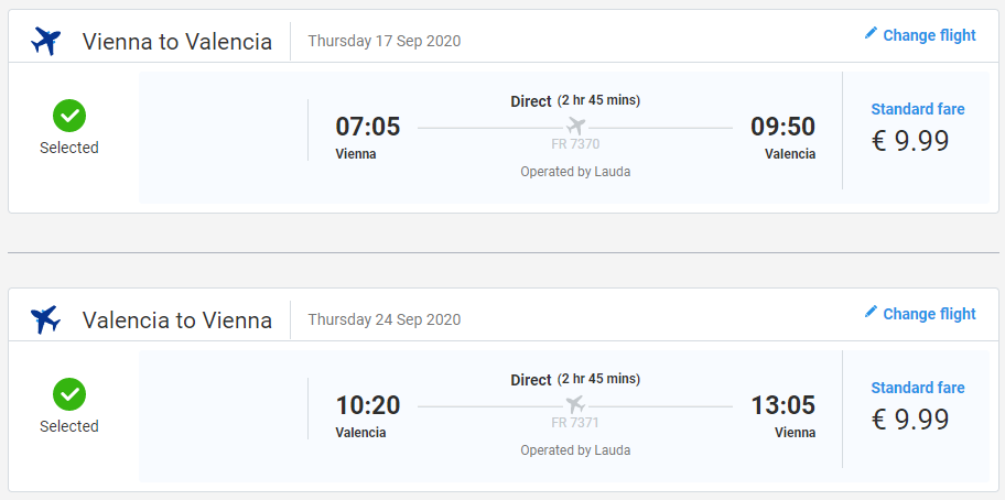 Valencia z Viedne koncom leta s letenkami od 20 eur