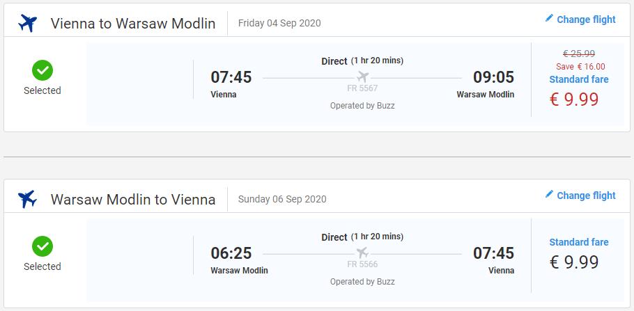 Varšava aj na víkend s letenkami z Viedne od 20 eur