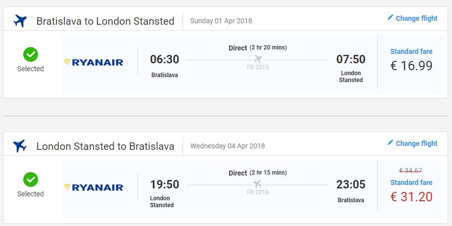 Veľká noc v Londýne. Spiatočné letenky z Bratislavy od 48 eur
