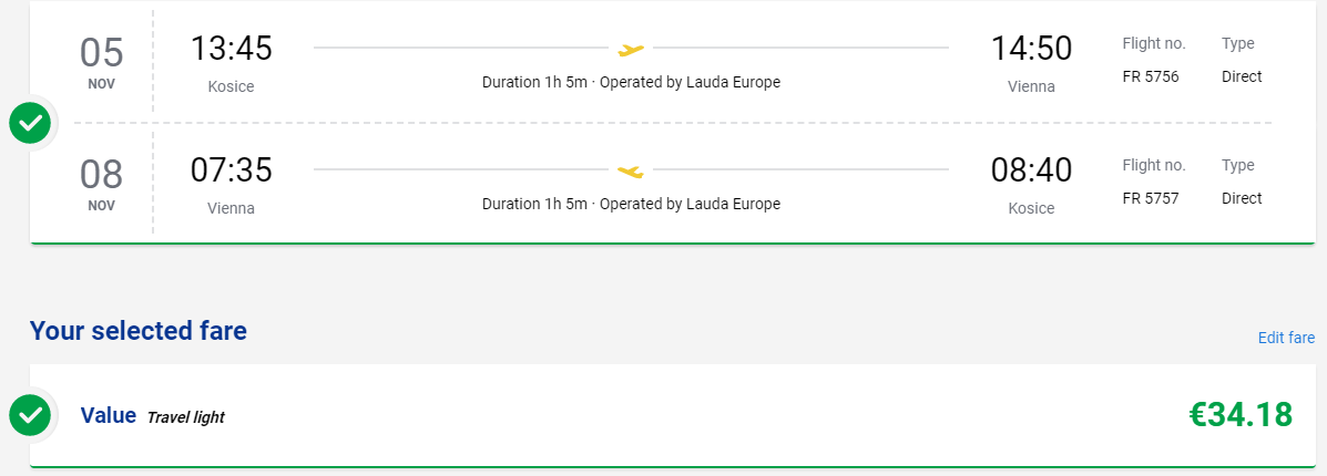 Viedeň z Košíc aj na predĺžený víkend s letenkami od 34 eur