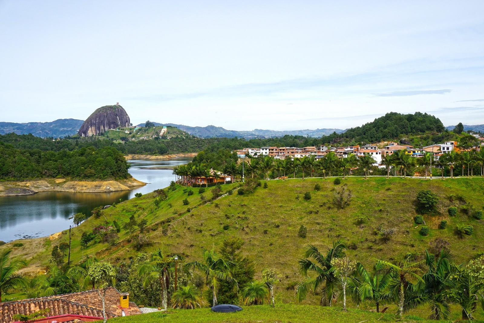 Guatape a El Penol, Colombia