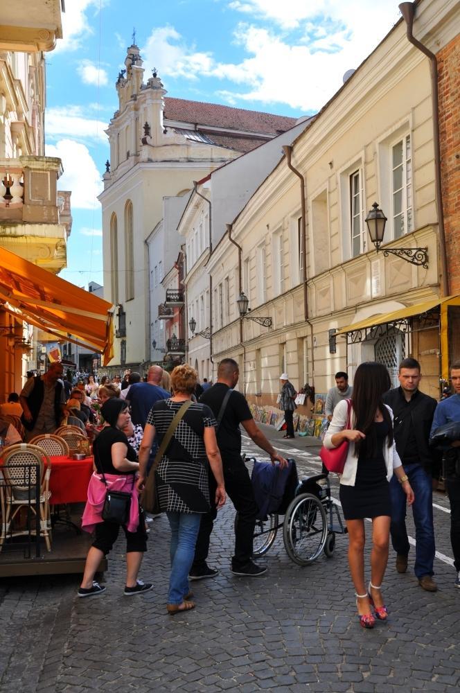 Vilnius - hlavnou ulicou