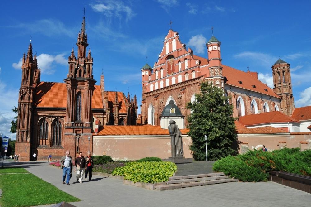 Vilnius - kostol sv.Anny je najkrajší v meste