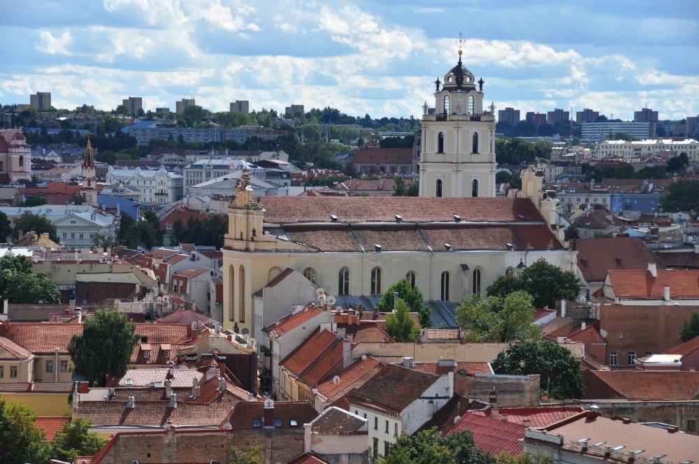Vilnius - panoráma starého mesta