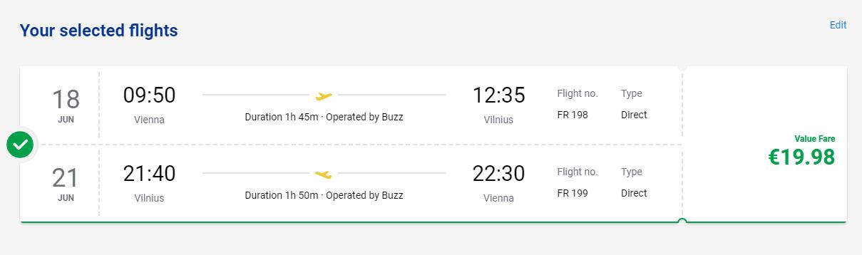 Vilnius z Viedne aj na predĺžený víkend s letenkami od 20 eur