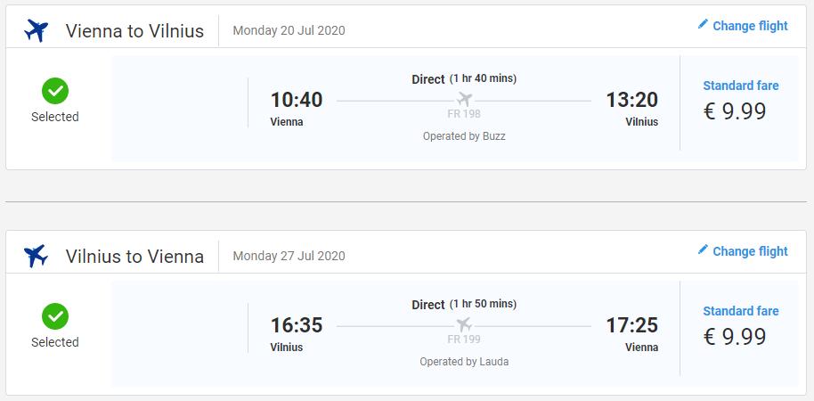 Vilnius z Viedne cez letné prázdniny s letenkami od 20 eur