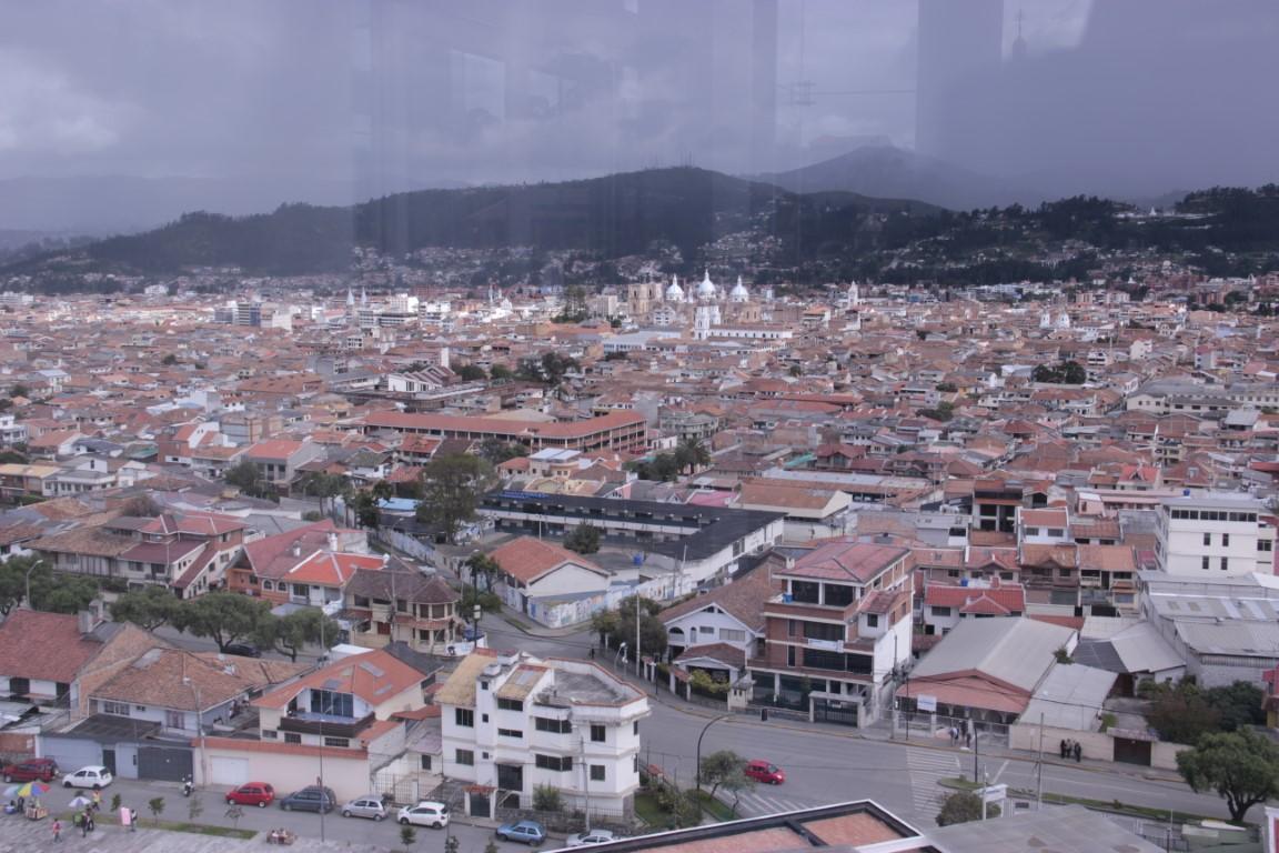 Výhľad na Cuenca - Ecuador