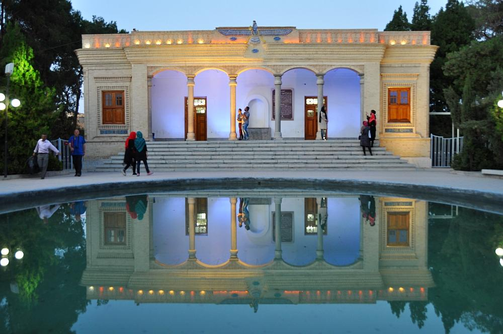 Yazd - chrám ohňa Ateskade