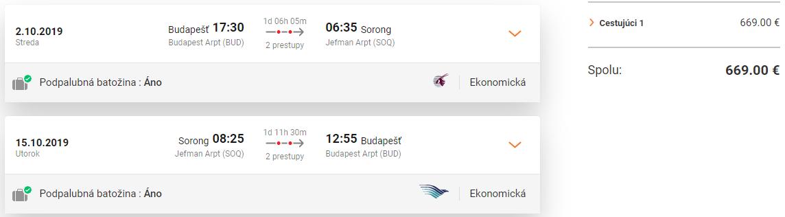 ZÁPADNÁ PAPUA - Sorong z Budapešti s letenkami od 669 eur