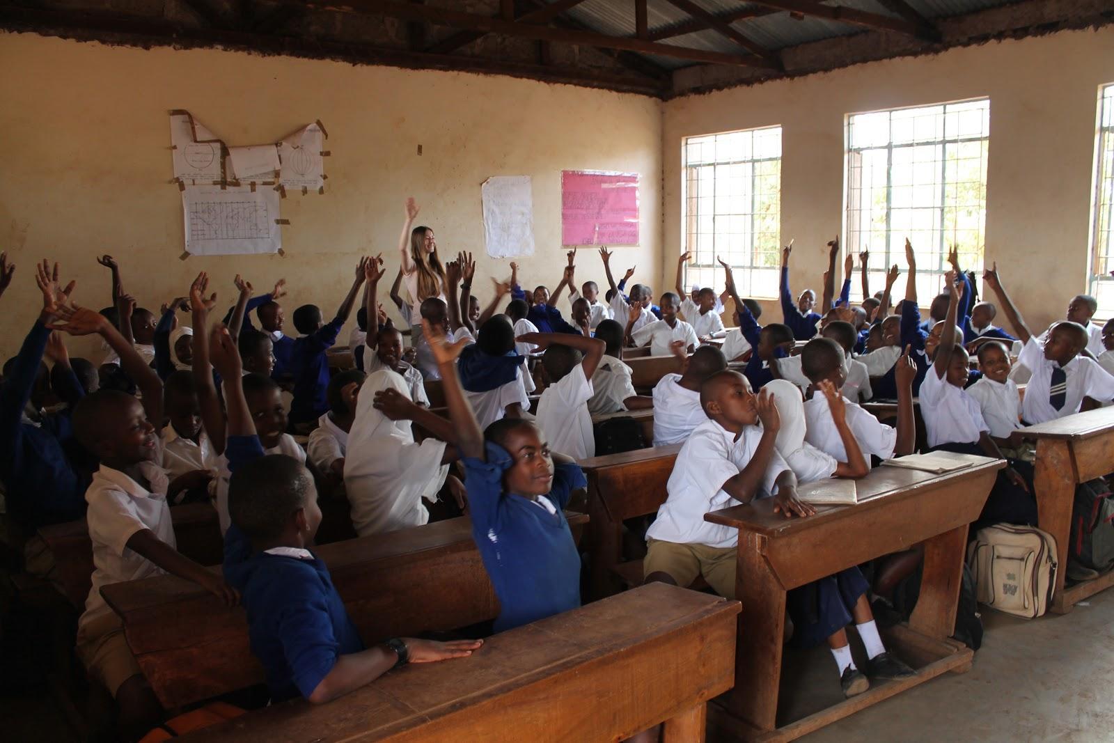 Základná škola Soweto, kde sme učili deti, Moshi