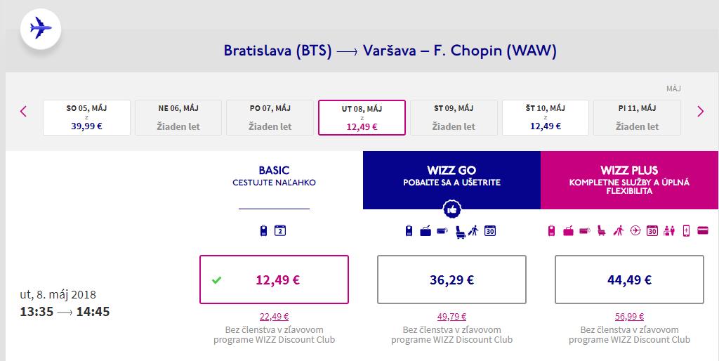Z Bratislavy do USA so zastávkami vo Varšave, Bergene, Dubline a Londýne od 219 eur