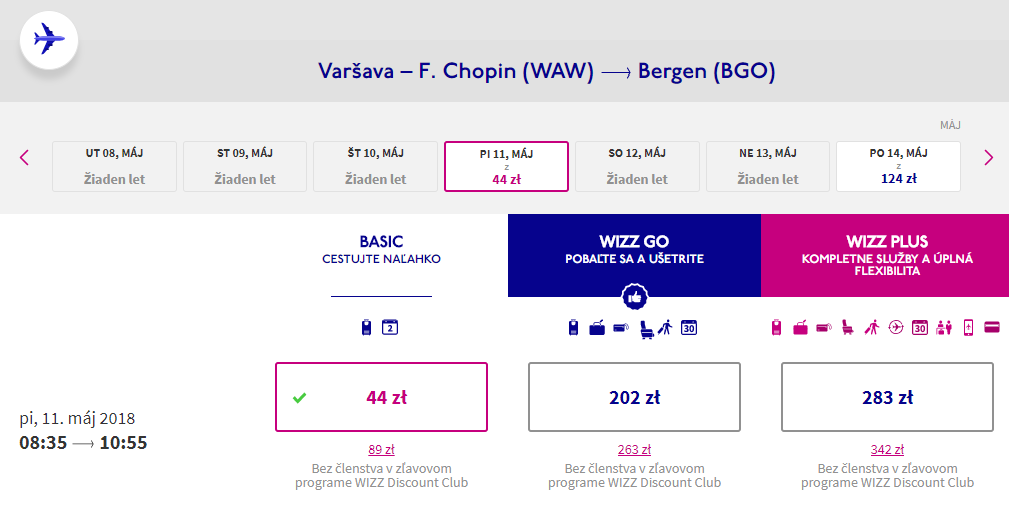 Z Bratislavy do USA so zastávkami vo Varšave, Bergene, Dubline a Londýne od 219 eur 2