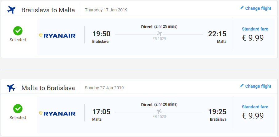 Z Bratislavy na Maltu s lacnými letenkami už od 20 eur