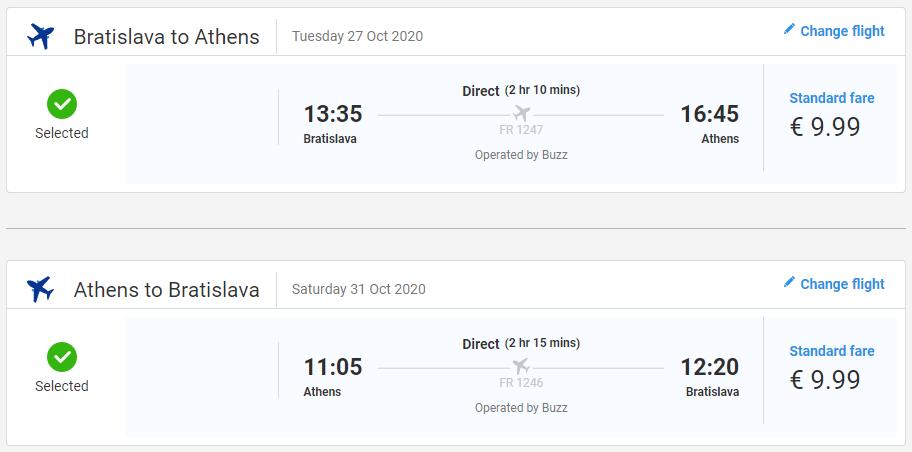 Za históriou do Atén s letenkami z Bratislavy už od 20 eur