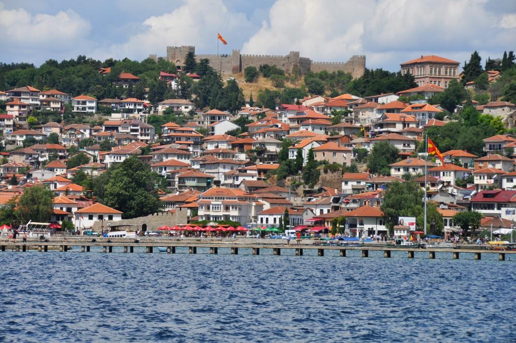 Ohrid - najkrajšie mesto krajiny na brehu jazera