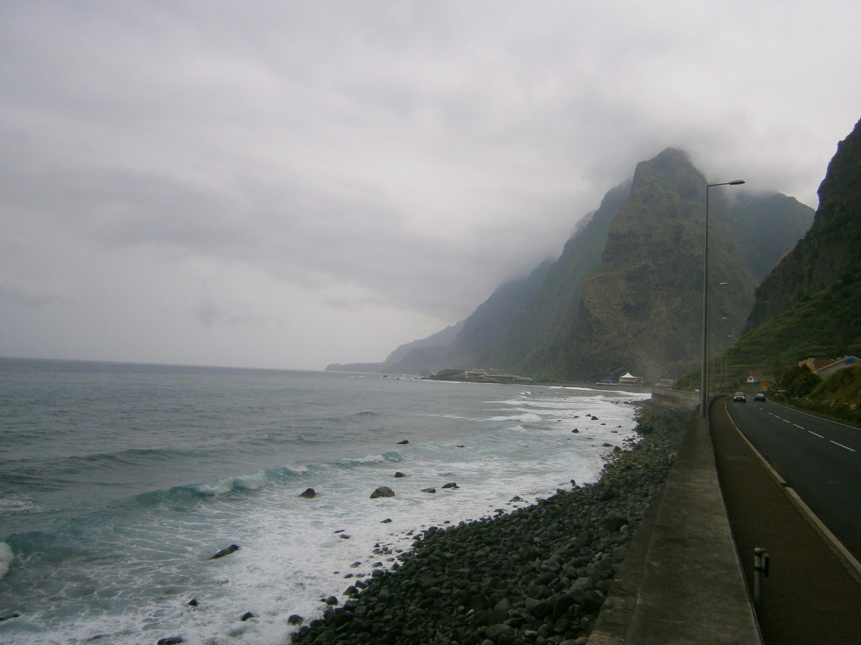 Cesta na severe ostrova.