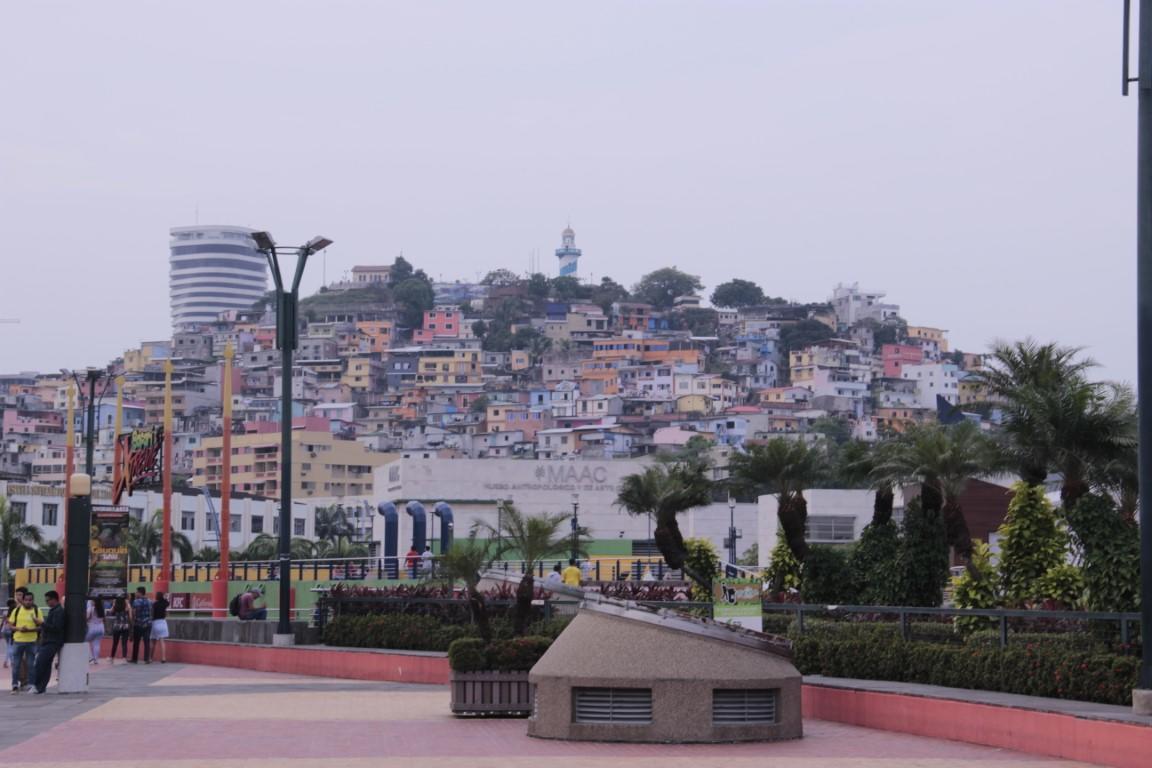 Kopec s majákom - Guayaquil - Ecuador