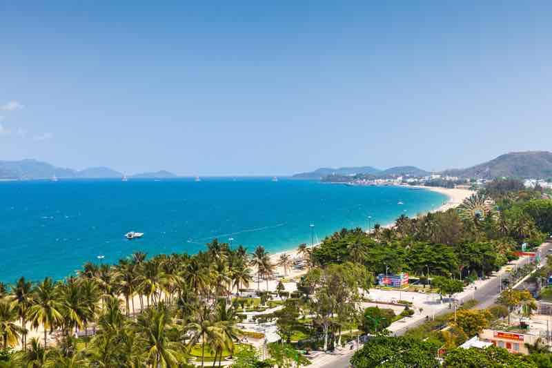 Prímorské mesto Nha Trang
